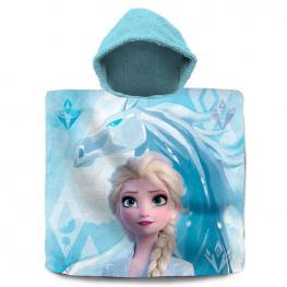 Poncho Toalla Elsa Frozen 2 Disney Algodon