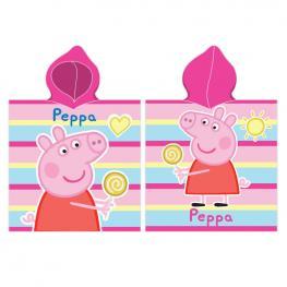Poncho Toalla Peppa Pig Microfibra