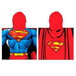 Poncho Toalla Superman Dc Comics