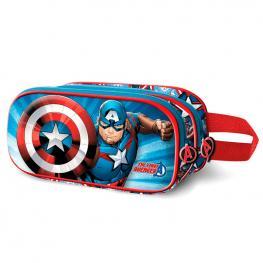 Portatodo 3D Capitan America Marvel Doble