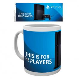 Taza Playstation Ps4 Console