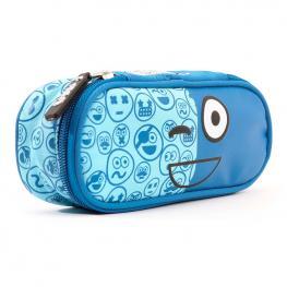 Portatodo Spirit Emoticons Blue Ovalado
