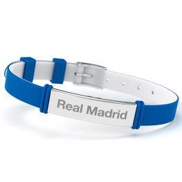 Pulsera Fashion Real Madrid Azul