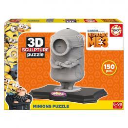 Puzzle 3D Minion