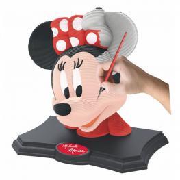 Puzzle 3D Minnie Disney Color Edition