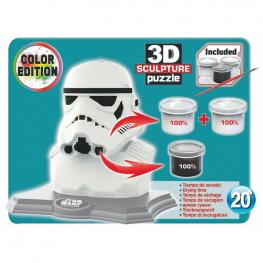 Puzzle 3D Stormtrooper Star Wars Color Edition