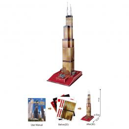 Puzzle 3D Torre Willis