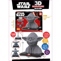 Puzzle 3D Yoda Star Wars Disney