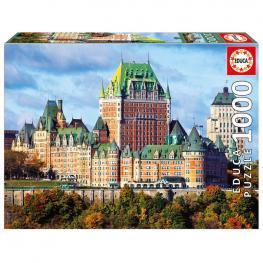 Puzzle Castillo de Frontenac Canada 1000Pz