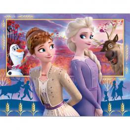 Puzzle Frozen 2 Disney 20+60+100+180Pz