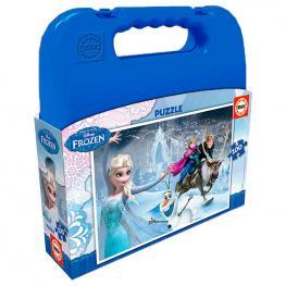 Puzzle Frozen Disney Maleta 100Pz