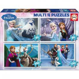 Puzzle Frozen Disney Progresivos 50-80-100-150