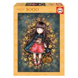 Puzzle Gorjuss Autumn Leaves 1000Pz