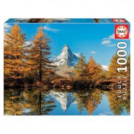 Puzzle Monte Cervino En Otoño 1000Pz