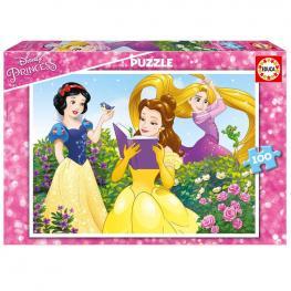 Puzzle Princesas Disney 100Pz