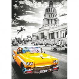 Puzzle Taxi En la Habana Cuba 1000Pz
