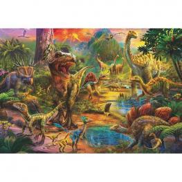 Puzzle Tierra de Dinosaurios 1000Pz