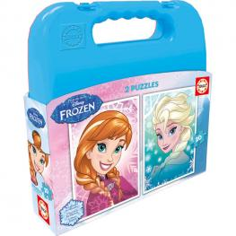 Puzzles Frozen Disney Maleta 2X20Pz