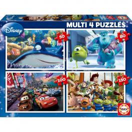 Puzzles Progresivos Pixar Disney 50-80-100-150