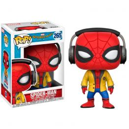 Figura Pop Marvel Spiderman Homecoming Spiderman With Headphones