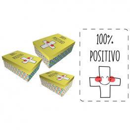Set Cajas Regalo Baggy Positivo