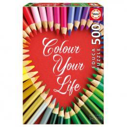 Puzzle Colour Your Life 500Pz