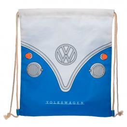 Saco Caravana Volkswagen Vw T1 Azul 46Cm