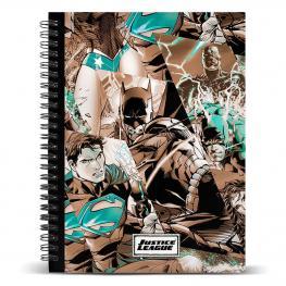 Cuaderno A5 Liga de la Justicia Dc Comics