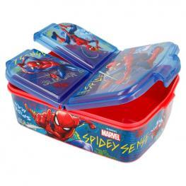 Sandwichera Multiple Graffiti Spiderman Marvel
