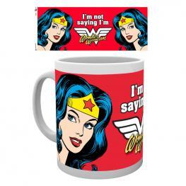Taza Wonder Woman Not Saying Dc