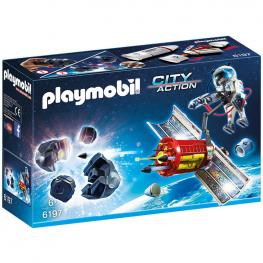Satélite Laser Meteoritos Playmobil City Action