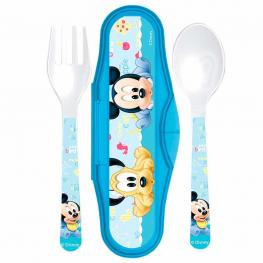 Set 2 Cubiertos Mickey Disney Baby