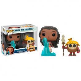 Set 2 Figuras Pop Disney Vaiana Moana Kakamora