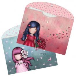 Set 2 Sobres Carpetas Gorjuss Cherry Blossom And Love Grows