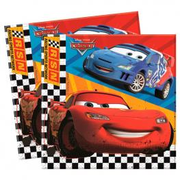 Set 20 Servilletas Papel Cars Disney