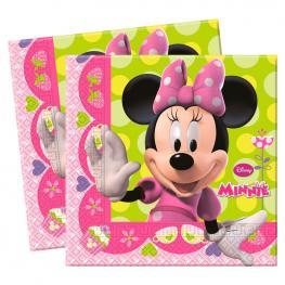 Set 20 Servilletas Papel Minnie Disney