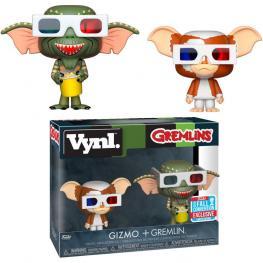 Figuras Vynl Gremlins Gizmo & Gremlin Exclusive