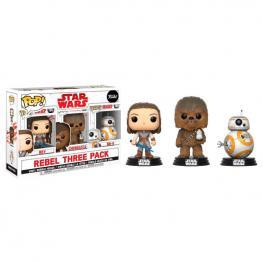 Set 3 Figuras Pop Star Wars Good Guys Exclusive