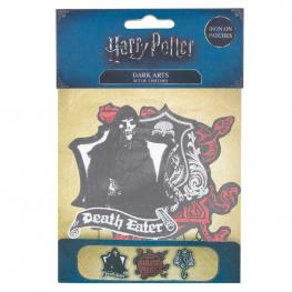 Set 3 Parches Dark Arts Harry Potter