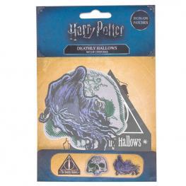 Set 3 Parches Deathly Hallows Harry Potter