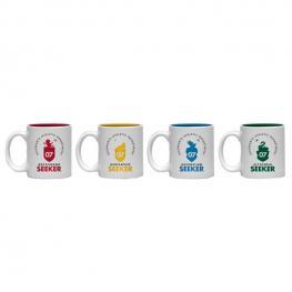 Set 4 Tazas Espresso Quidditch Harry Potter