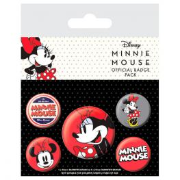 Set 5 Chapas Minnie Disney