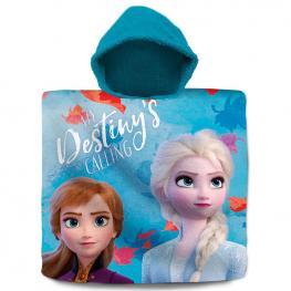 Poncho Toalla Frozen 2 Disney Algodon