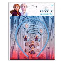 Set Accesorios Pelo Frozen 2 Disney 7Pzs