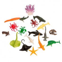 Set Animales Marinos Surtido 18Pzs
