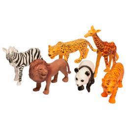 Set Animales Salvajes Surtido 6Pzs