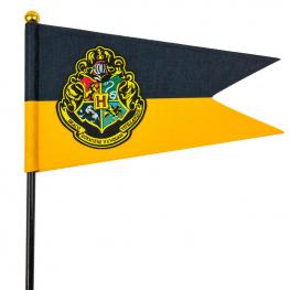 Set Bandera y Banderin Hogwarts Harry Potter