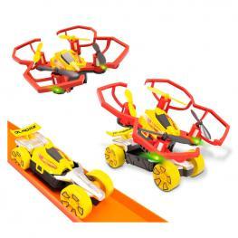 Set Bladez Drone Racerz + Coche Hot Wheels Radio Control
