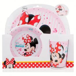 Set Desayuno Melamina Minnie Disney