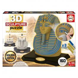 Puzzle 3D Tutankhamon Golden Edition